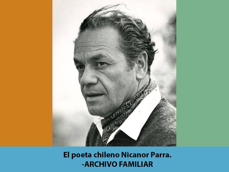 El pasado 23 de enero, a los 103 años, murió Nicanor Parra.