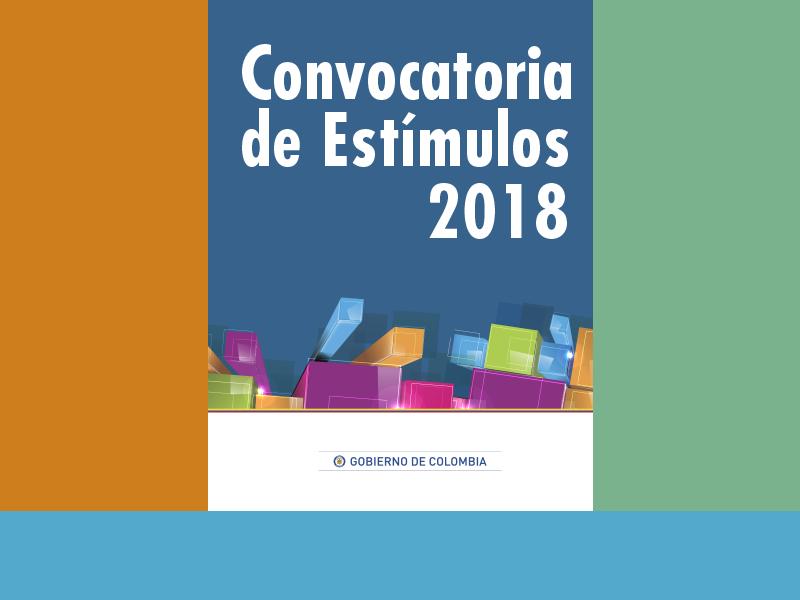 Esta abierta la convocatoria de estímulos del Min. Cultura de Colombia
