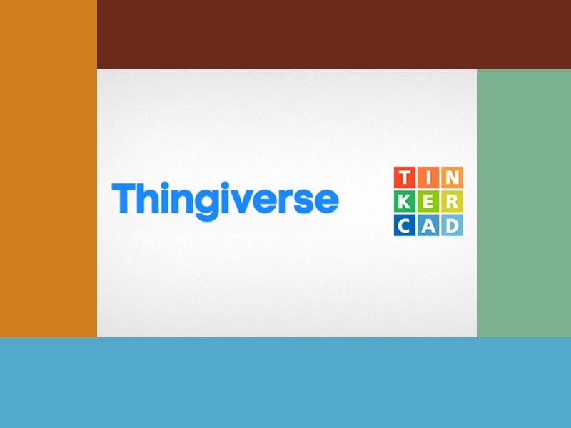 ThingiVerse y TinkerCad, bases de datos de diseños 3D