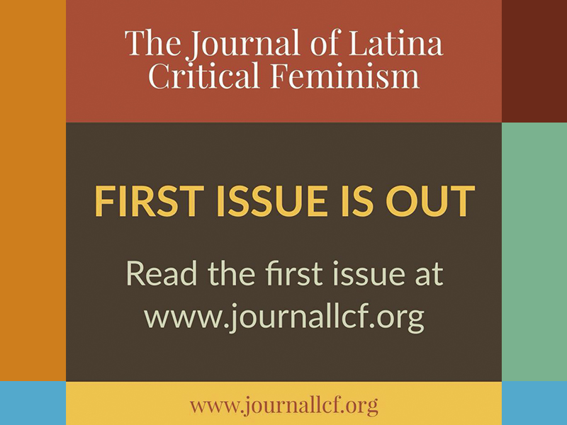 The Journal of Latina Critical Feminism – Primer Número